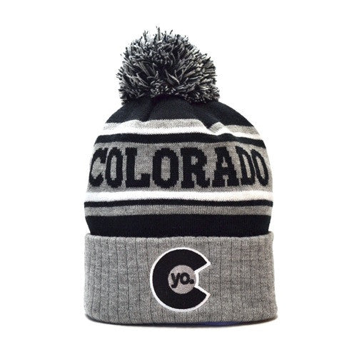 Monochromatic Colorado Beanie