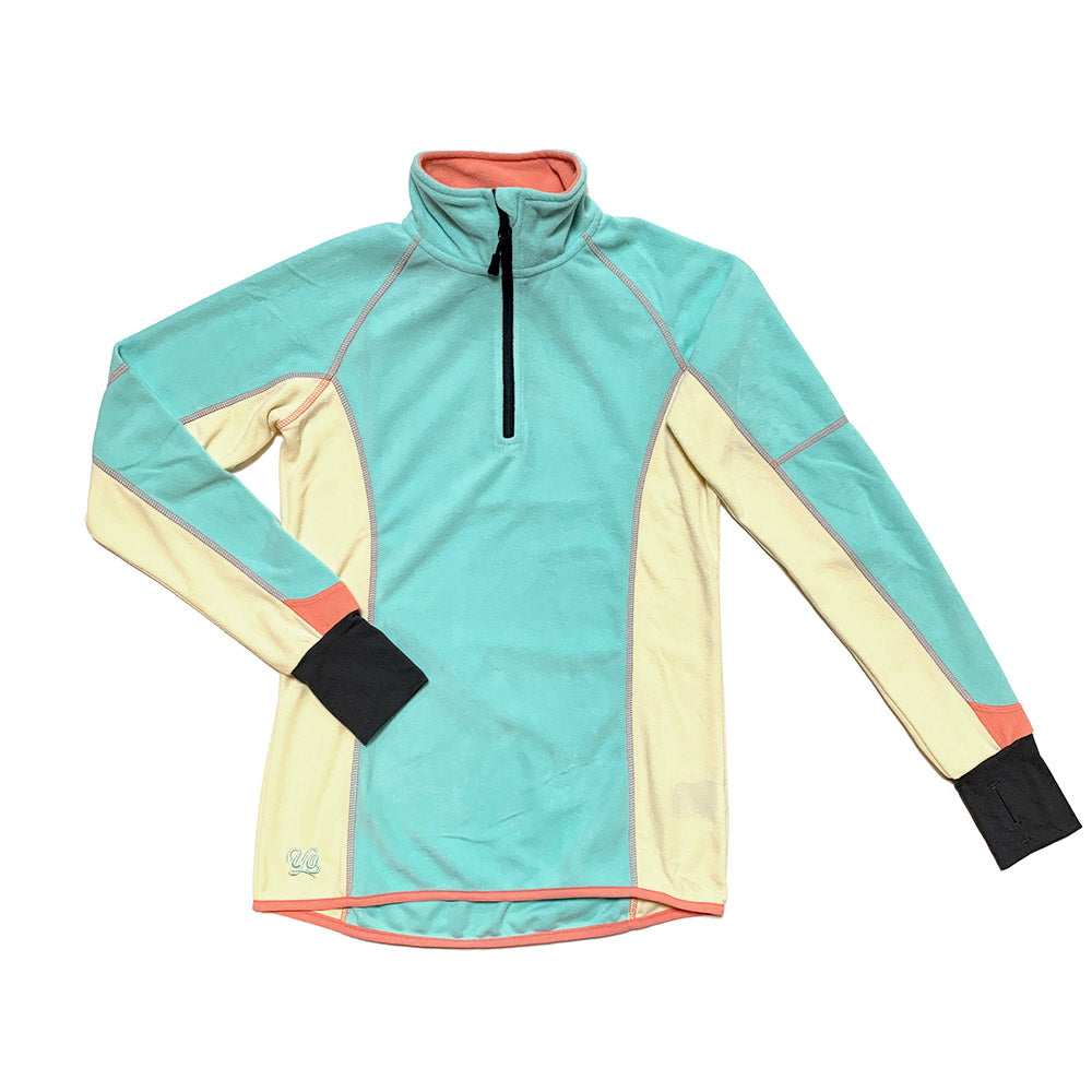 Velocity Wind Womens Quarter-Zip Fleece Jacket