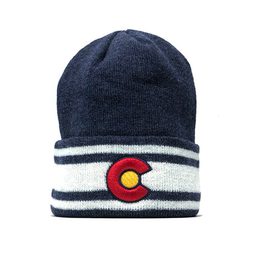 Colorado Flag XC Cuff Beanie