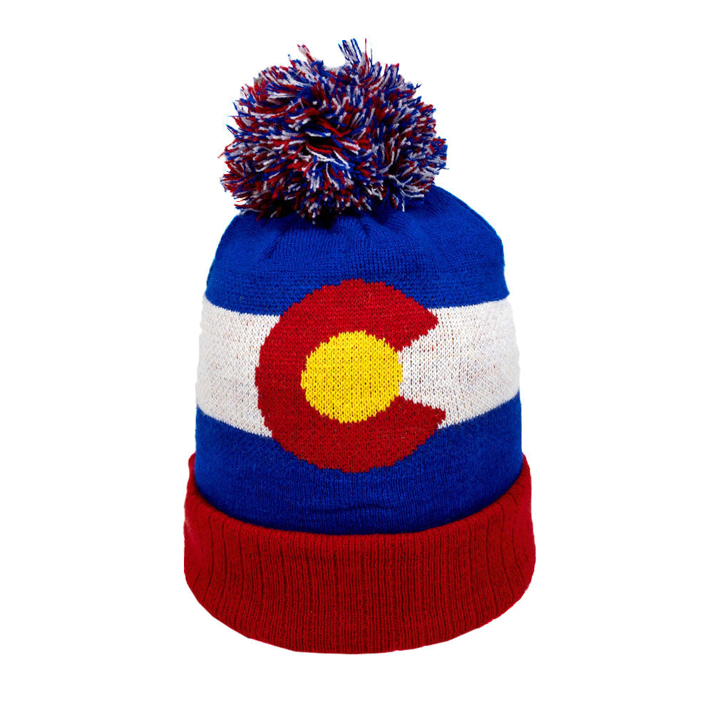 Original Colorado State Flag Beanie