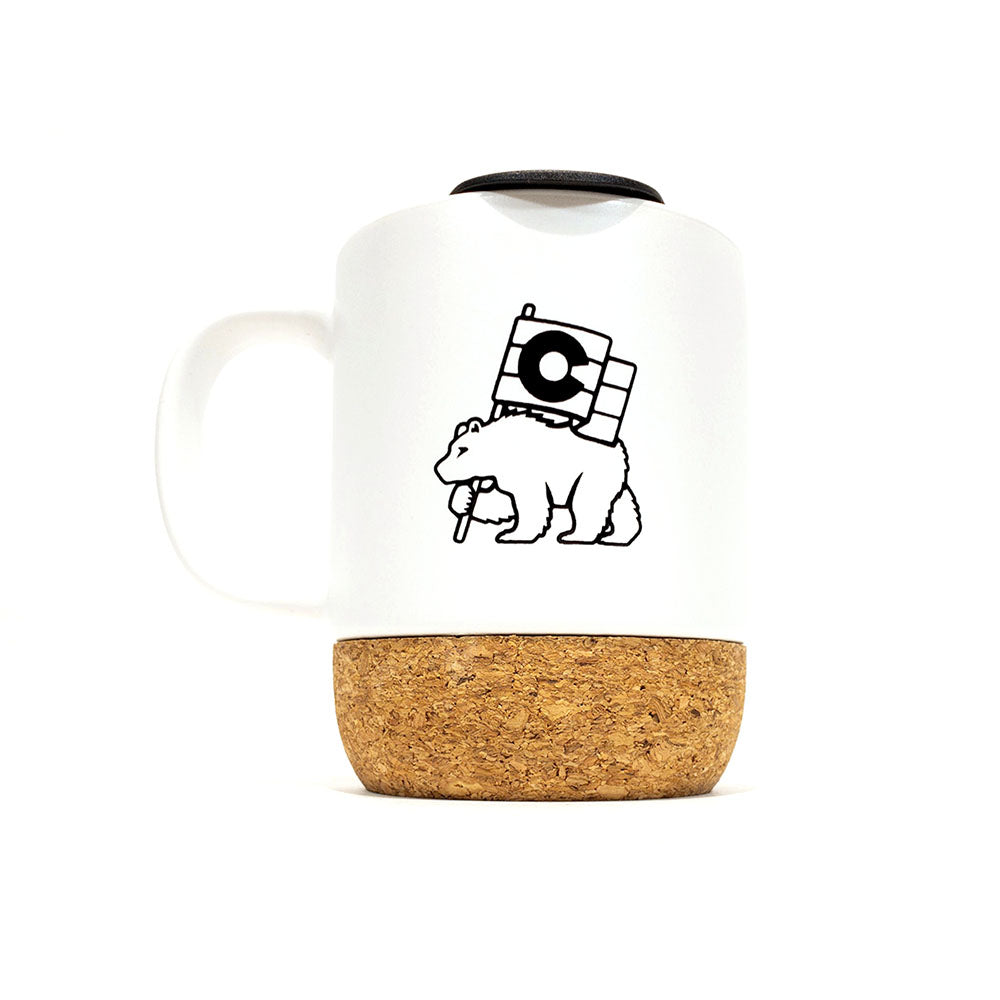 Colorado Bear Pride Cork Mug