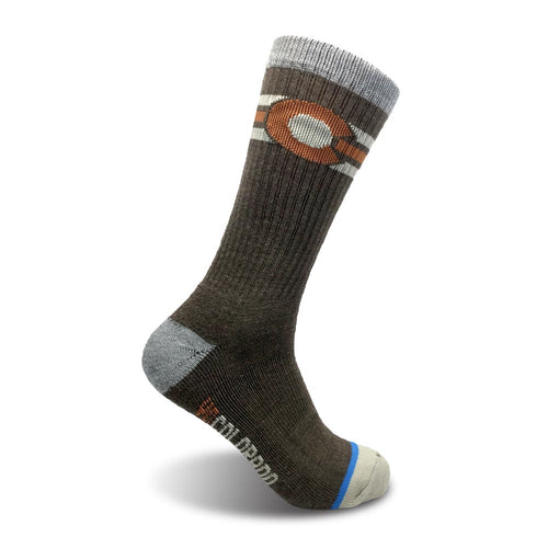 The Montezuma Colorado Flag Socks