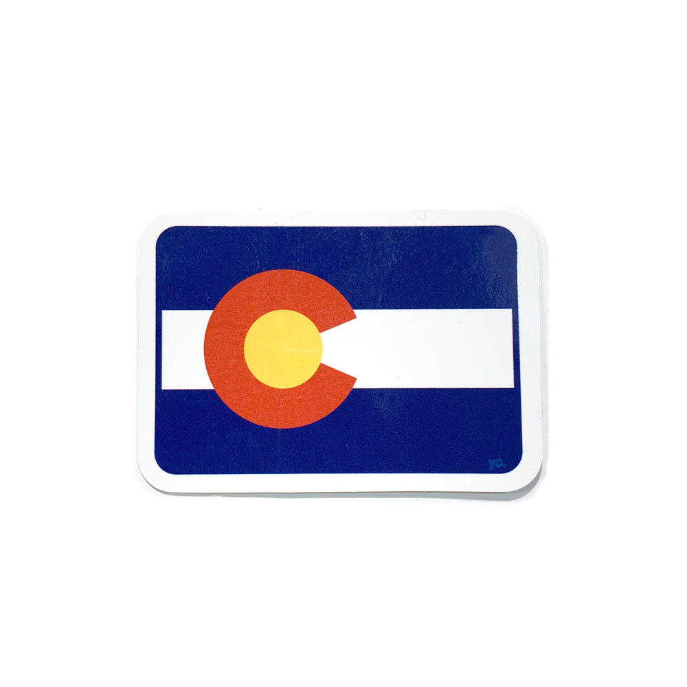 Colorado State Flag Sticker