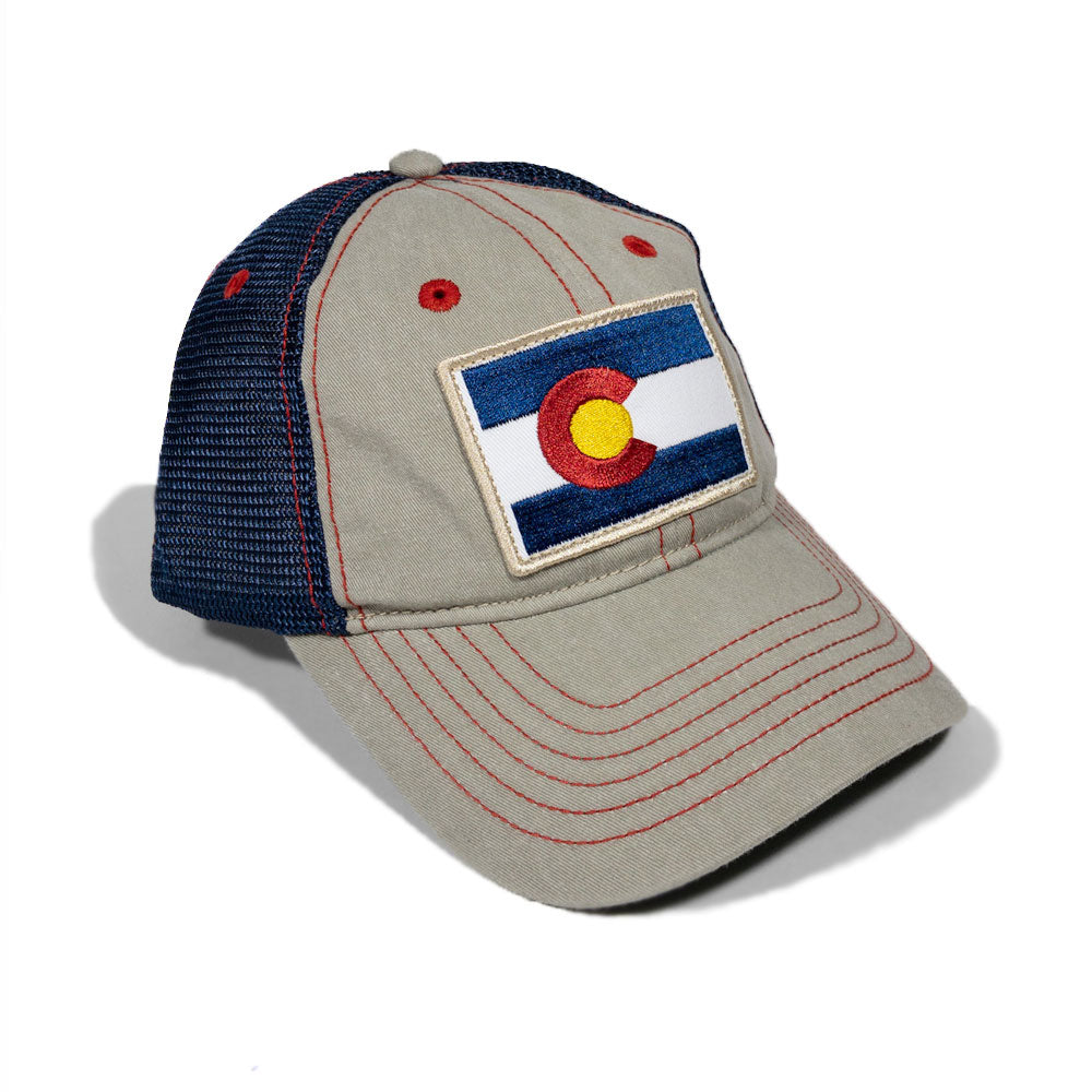 Colorado Diesel Flag Patch Trucker Hat