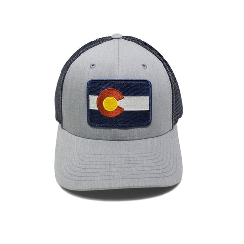 Fitted Colorado Flag Truck Stop Hat