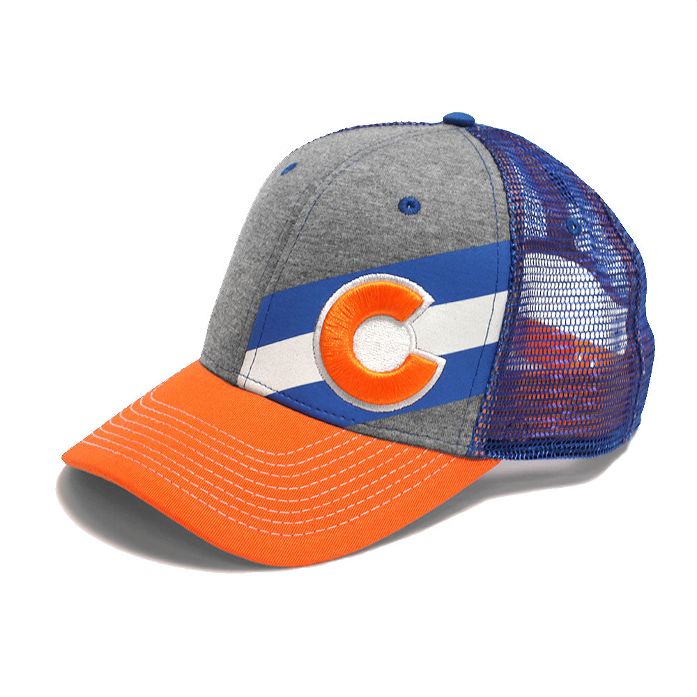 Incline Colorado Trucker Hat - Crush