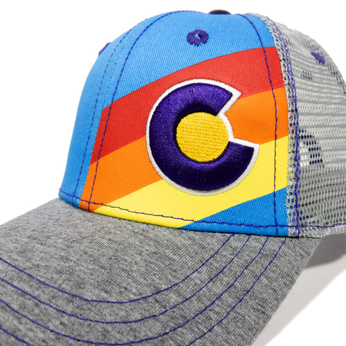 Small Fit Incline Colorado Trucker Hat - Summerfest