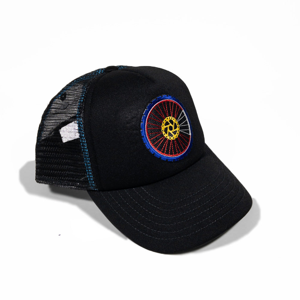 Kids Mountain Bike Foam Trucker Hat
