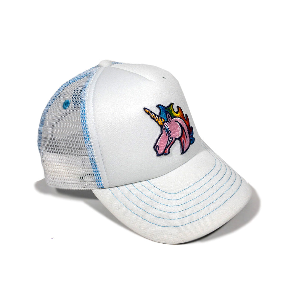Kids Rainbow Unicorn Foam Trucker Hat