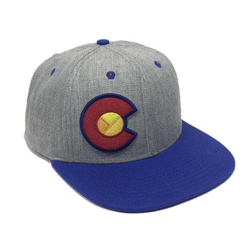 The Mile High Flat Bill Hat