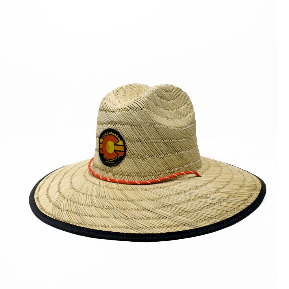 Yo Jack Straw Lifeguard Sun Hat