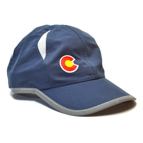 MARATHON RUNNING RUN COLORADO FLAG HAT
