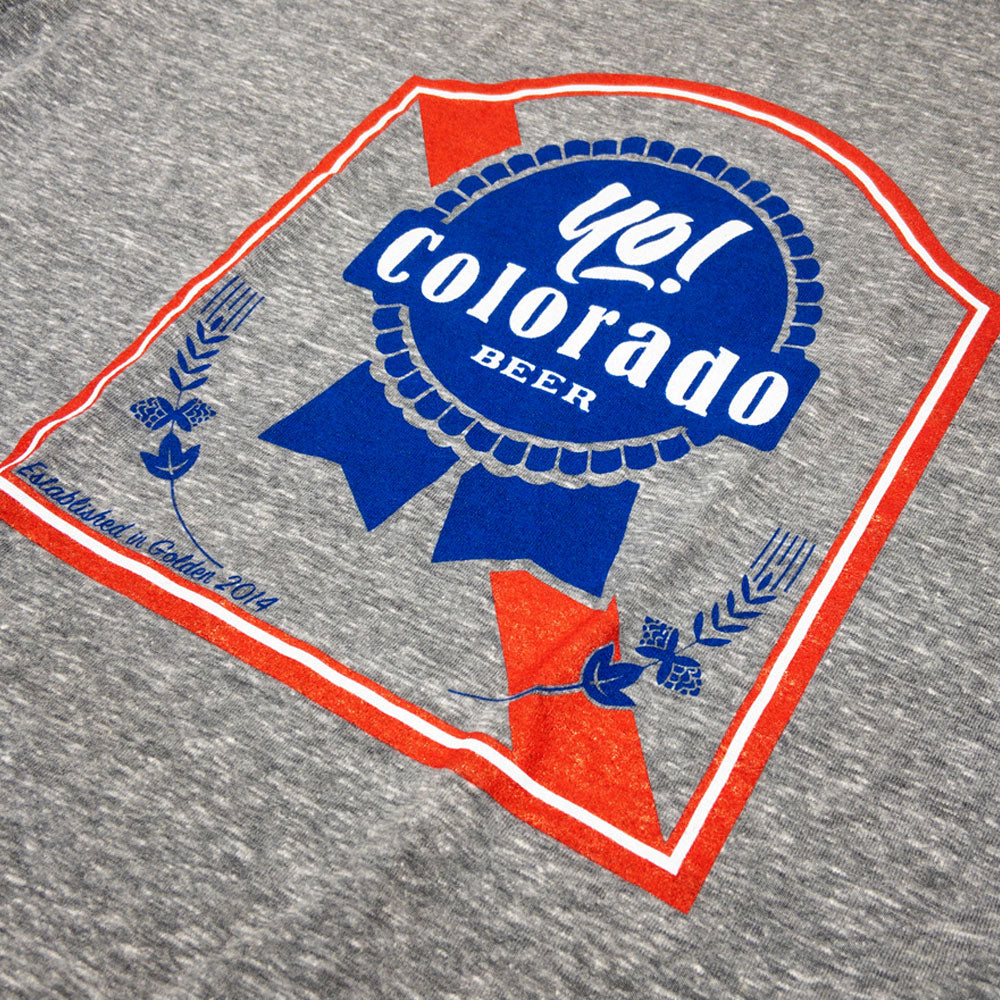 Yo Blue Ribbon Beer T-Shirt