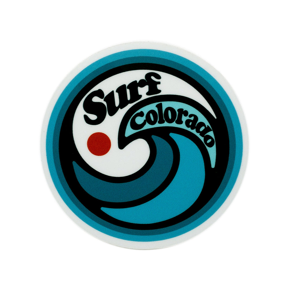 Surf Colorado Sticker