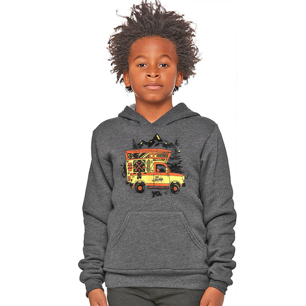 Kids' Adventuremobile Colorado Hoodie