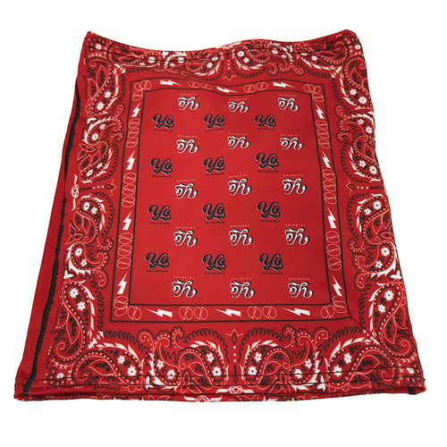 Red Bandana Sunshield Multi-Purpose Face Mask