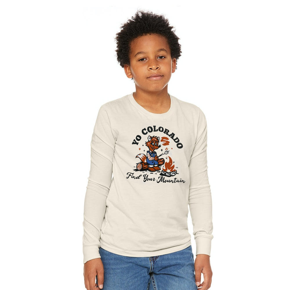 Roasty Fox Youth Long Sleeve T-Shirt