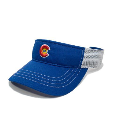 Yo Colorado Blue Visor