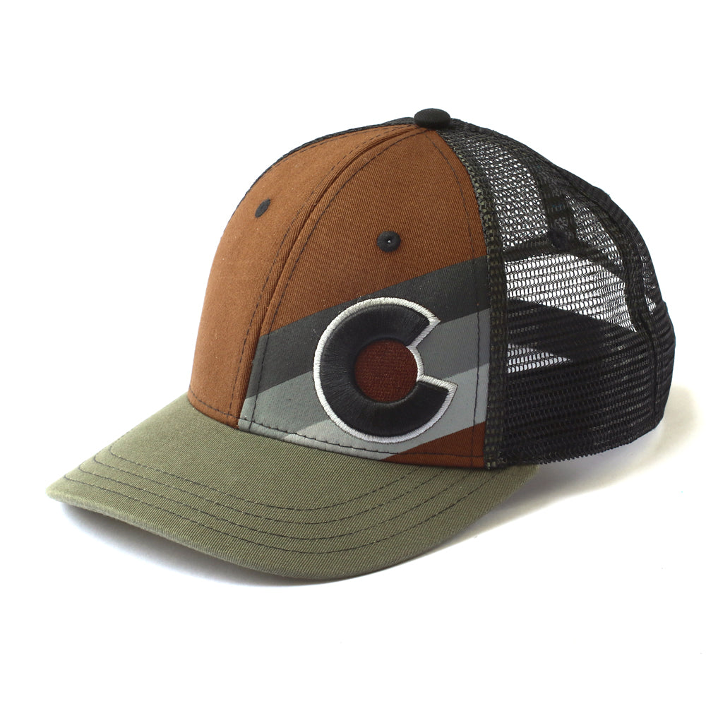 Incline Colorado Trucker Hat - The Woodsman