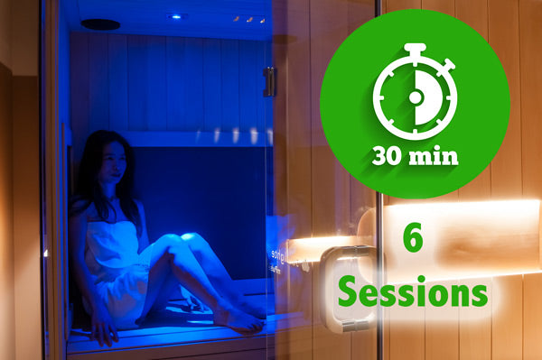Sauna Onnly 6 session block