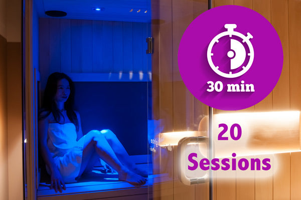 Sauna Only 20 session block