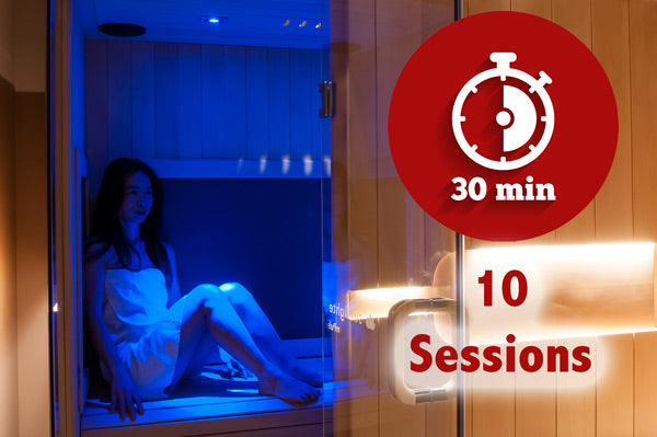 Sauna Only 10 session block