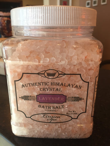 Bath Salt Lavender- 2 lb jar