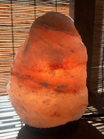 Natural Mini Himalayan Salt Lamp (3-5 lbs, HSC Mini)