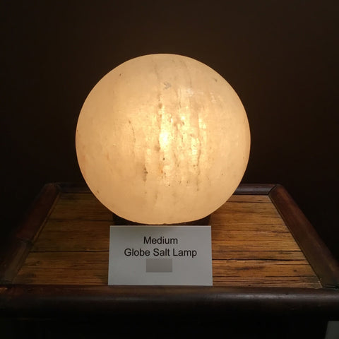 Globe Salt Lamp (medium)