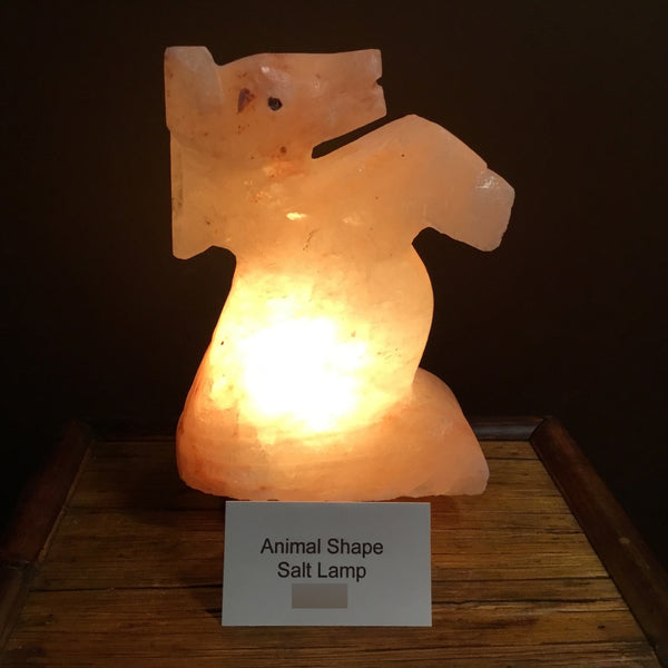Standing Horse - Crafted Himalayan Salt Lamp