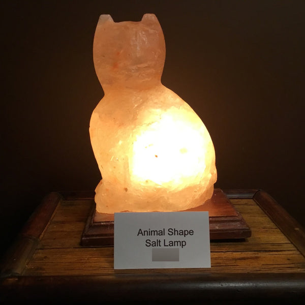 Cat - Himalayan Salt Lamp