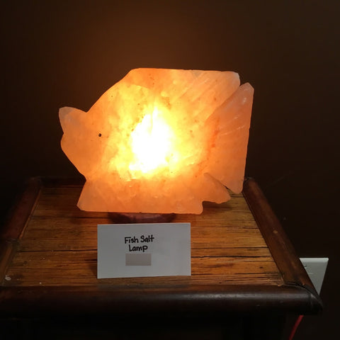 Fish Crafted Himalayan Salt Lamp