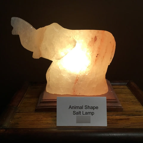Elephant Salt Lamp