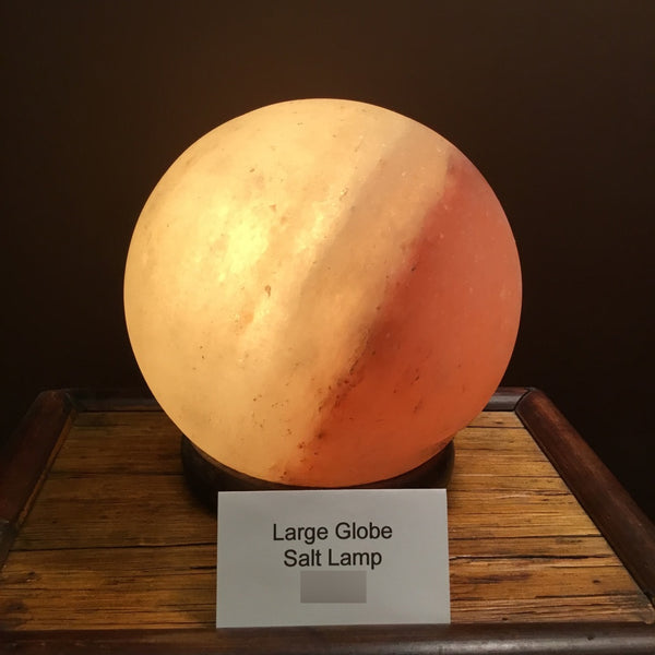 Globe Salt Lamp (large)