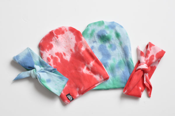 Red Tye Dye Headband