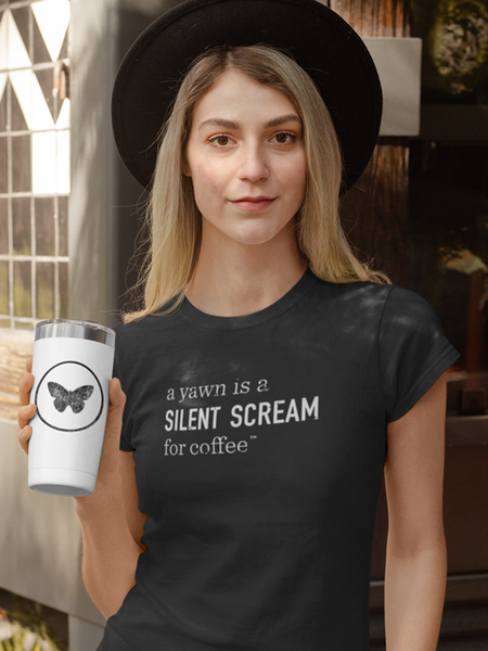 "Blue Butterfly - ""Scream"" T-shirt"