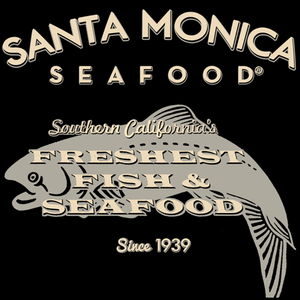 Santa Monica Seafood T-Shirt - Black