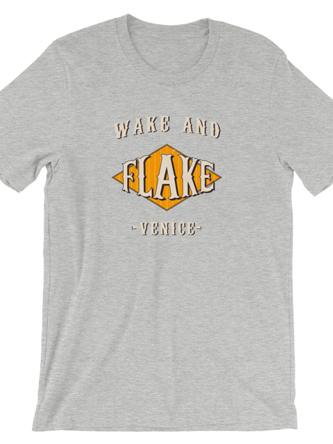 Flake Cafe T-Shirt - Gray