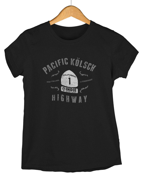 Indie Brewing Company's Pacific Kolsch Highway T Shirt