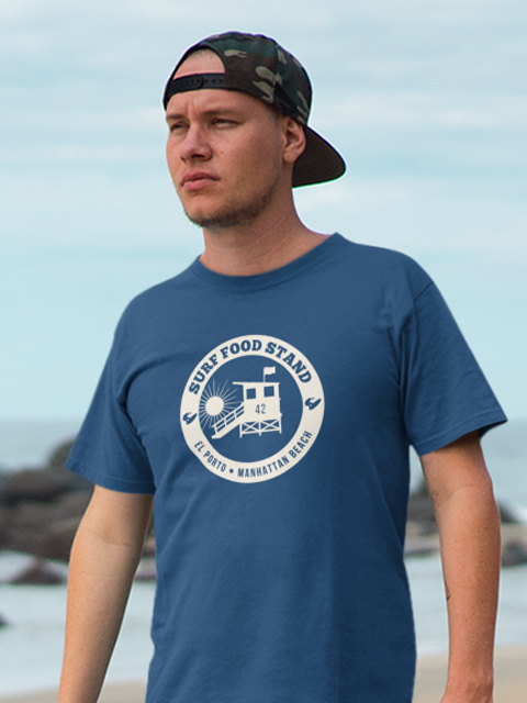 Surf Food Stand Guardstand T-Shirt