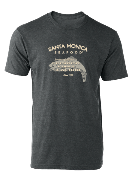 Santa Monica Seafood T-Shirt - Grey