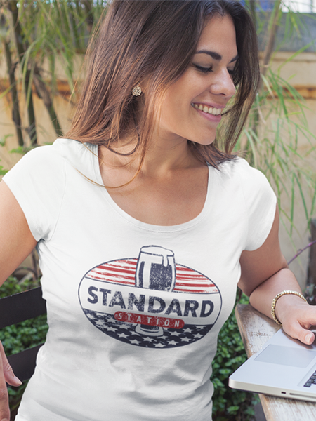 Standard Station Women's Scoop Neck T-shirt