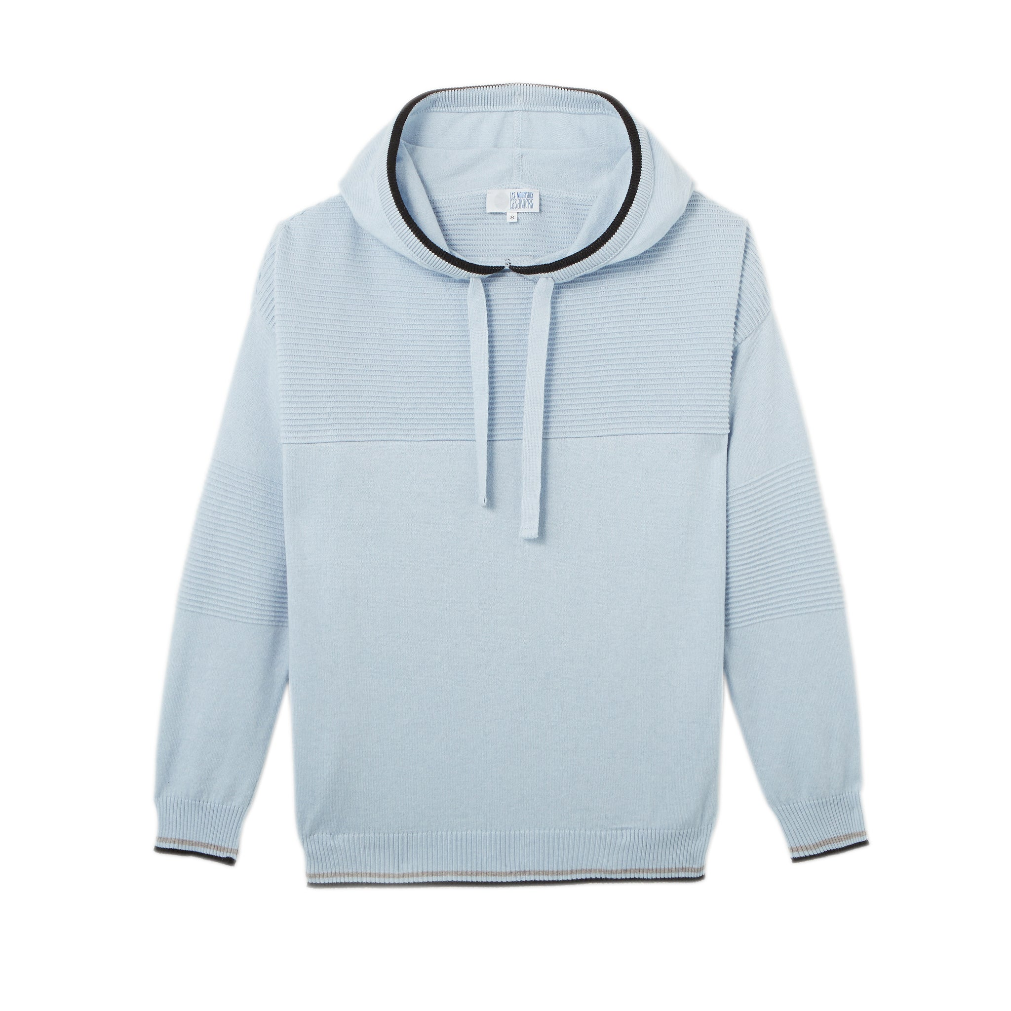 Charlie le hoodie pour femme made in France en coton cachemire