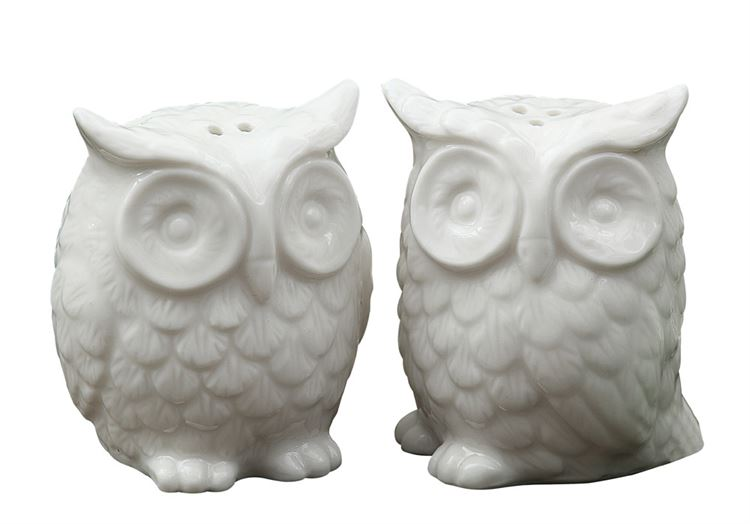 Owl-Always Love You Salt & Pepper Shakers