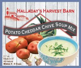 Potato Cheddar Chive Soup