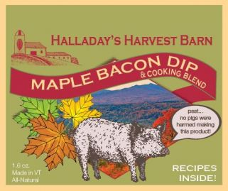 Maple Bacon Dip and cooking blend