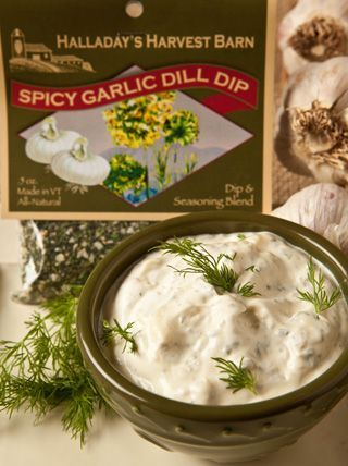 Spicy Garlic Dill Dip