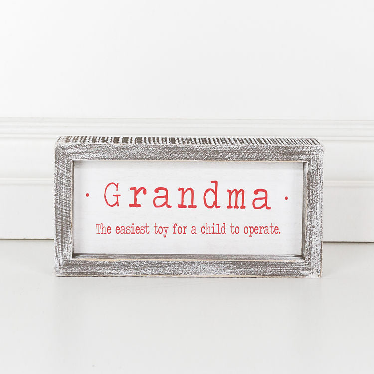 Grandma Holiday Sign