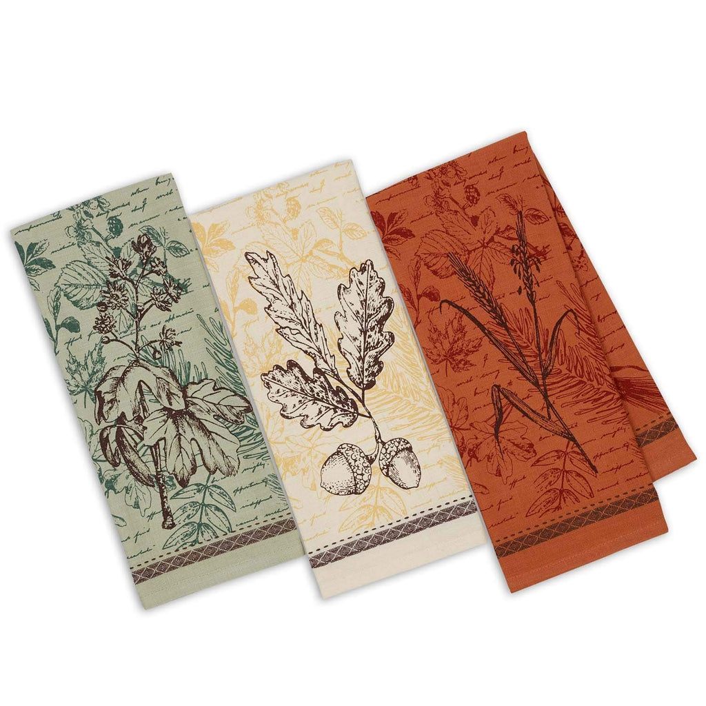 Botanical Harvest Towels