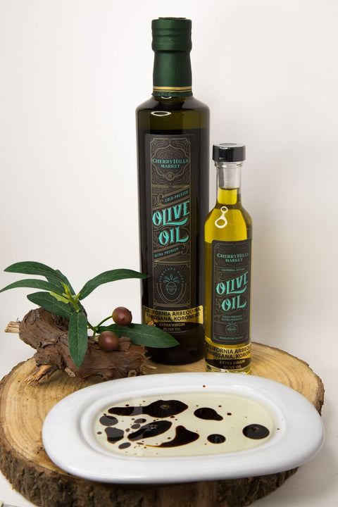 California Blend Arbequina, Arbosana, and Koroneiki, Ultra Premium - Extra Virgin Olive Oil